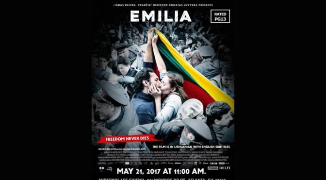 """Emilija iš Laisvės alėjos"" – ""Emilia–Fredom Never Dies"" Exclusive Atlanta Screening"
