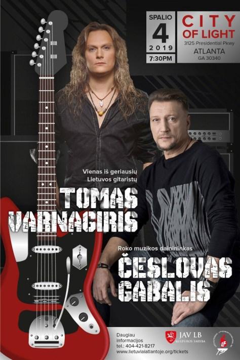 Tomas Varnagiris ir Česlovas Gabalis Atlantoje!