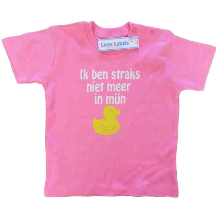 Shirt In mijn eendje