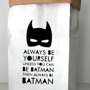 Paperbag batman