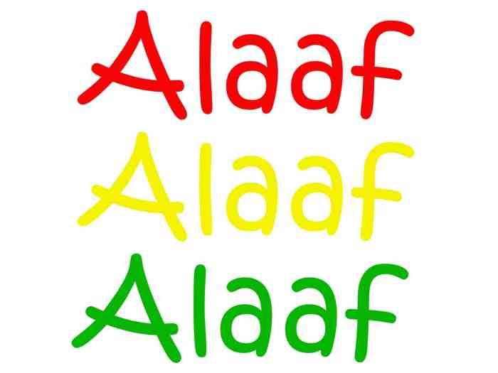 Raamsticker - Alaaf
