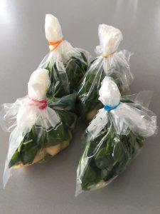 smoothie freezer bags, tip!