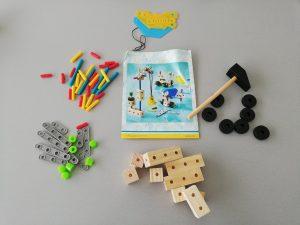 constructie speelgoed Totum- LIEVELYNE speelgoed testen