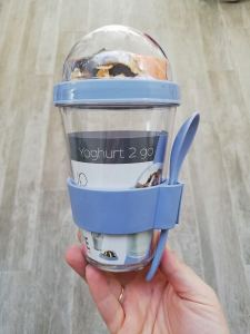 Yoghurt beker - Action shoplog LIEVELYNE