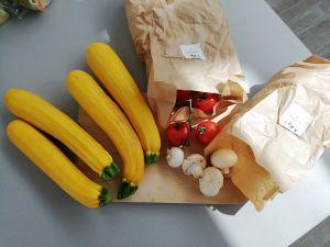 Pizzaboot van Courgette gezond zonder koolhydraten