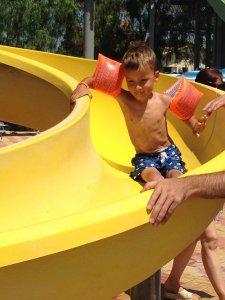 Aquapark Conte Sommatino - Sicilië met drie kinderen