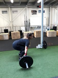 Darkrow Crossfit Powerclean - Afvallen - Lievelyne