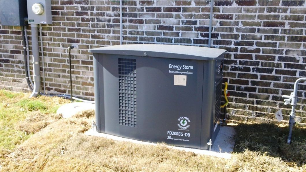 Home Standby Generator with Showcase Home