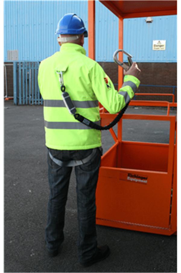 Jacket Safety Harness Wind Breaker Water Proof