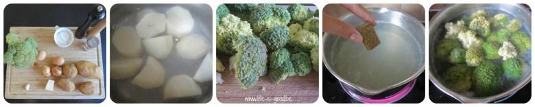 broccoliburger recept