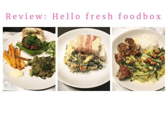 Hello Fresh Foodbox review