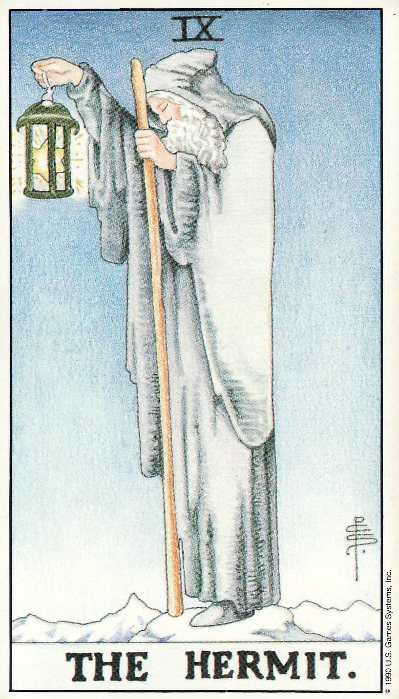 The Hermit Tarot Card Meaning In Readings Isolation: Today's Tarot: The Hermit-Me, Myself, And I