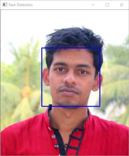 Face Detection on Images using OpenCV Haar Cascades