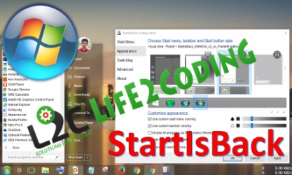 Bring The Windows 7 Start Menu to Windows 10 and 8.1 with StartIsBack
