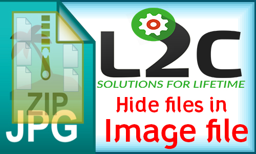 How to Hide files in Image !