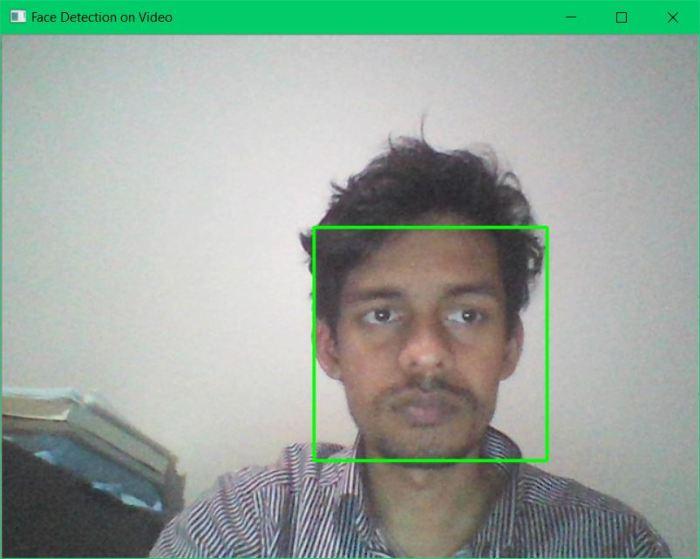 videoFaceDetection Face Detection on Videos using OpenCV Haar Cascades