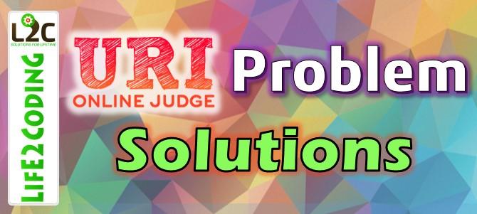 URI ONLINE JUDGE SOLUTION : 2534 - General Exam (BEGINNER PROBLEM)