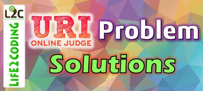 URI ONLINE JUDGE SOLUTION : 2418 – Carnaval (INTERMEDIATE PROBLEM)