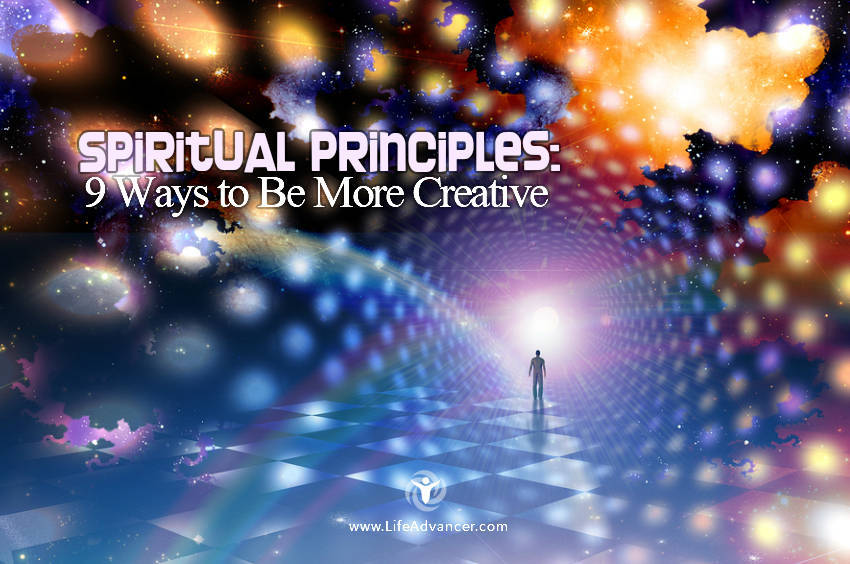 Spiritual Principles Be More Creative