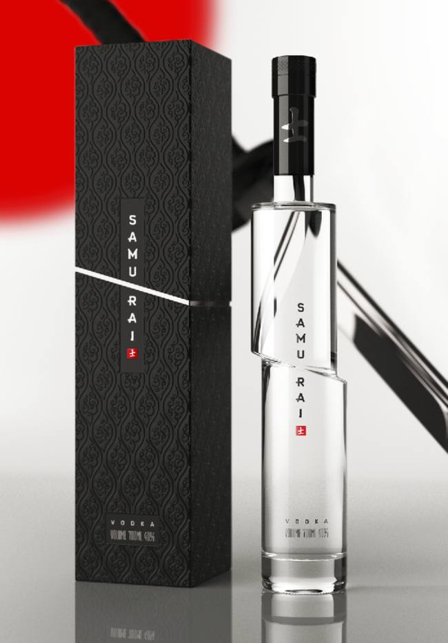 18-Samurai Vodka-Clever Product Packages