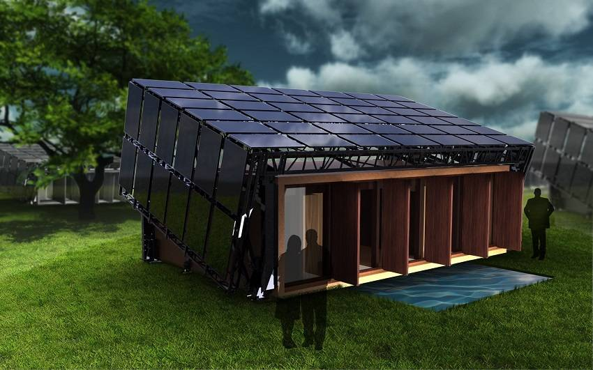 Build a Completely Off-the-Grid Self-Sustaining Home