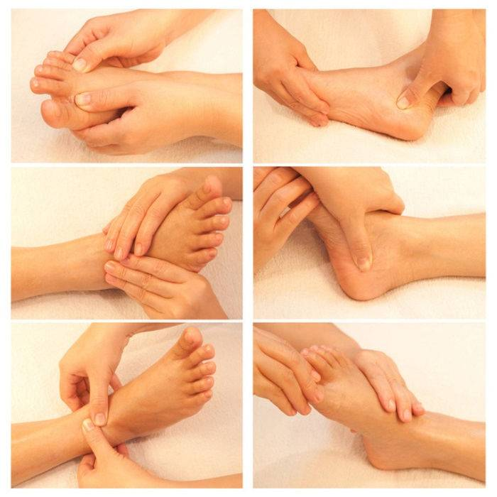 foot massage spots