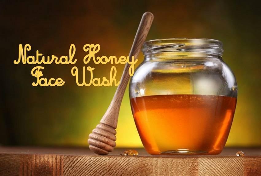 Homemade Honey Face Wash