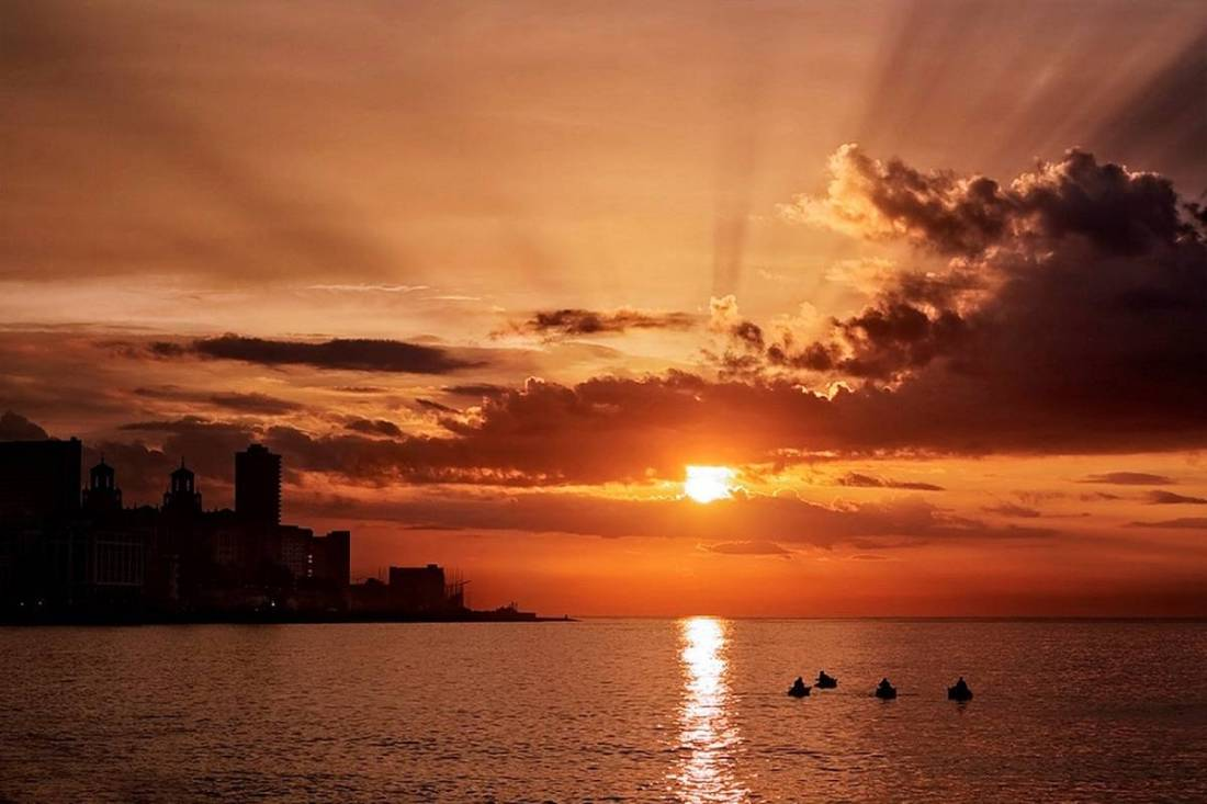Magnificent Sunsets Havana, Cuba