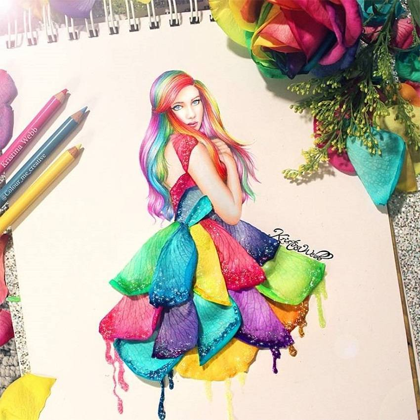 19-Year-Old Artist Creates Amazing 3D Paintings Using Real