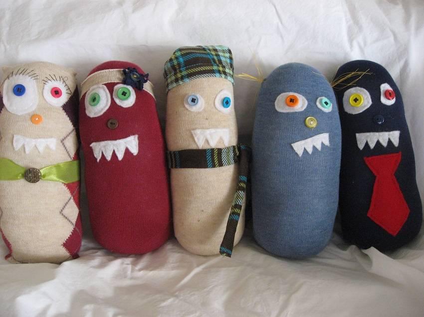 11. Sock monsters