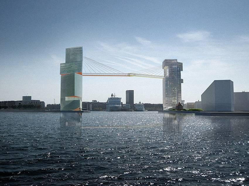 Copenhagen Is Building Crazy Bike Lane