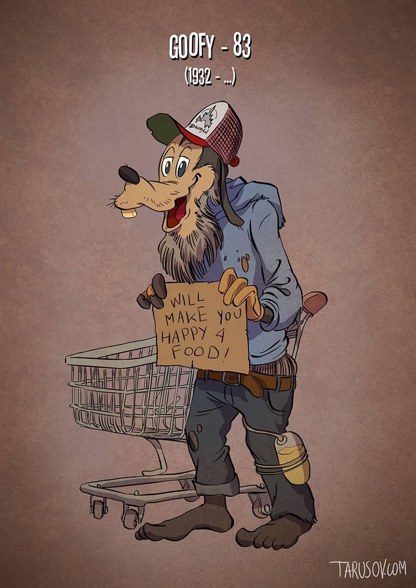 Goofy Famous Cartoon Characters