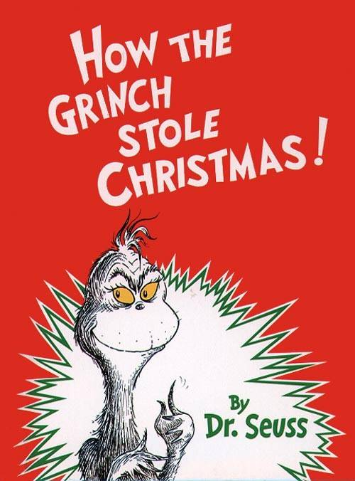 christmas books How The Grinch Stole Christmas Book