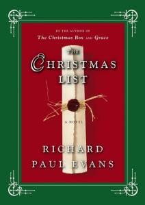 The Christmas List Book