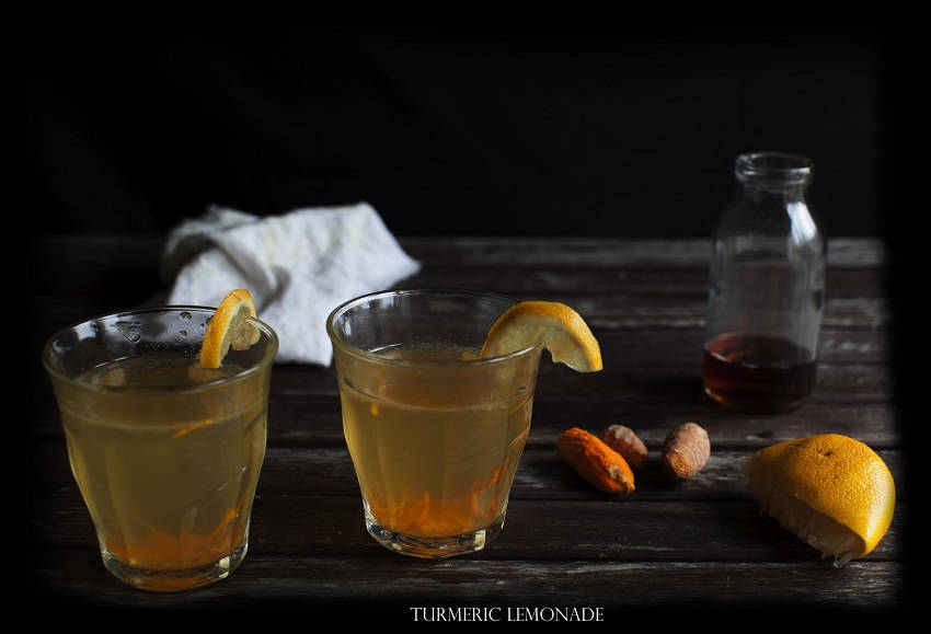 Turmeric Lemonade That Treats Depression