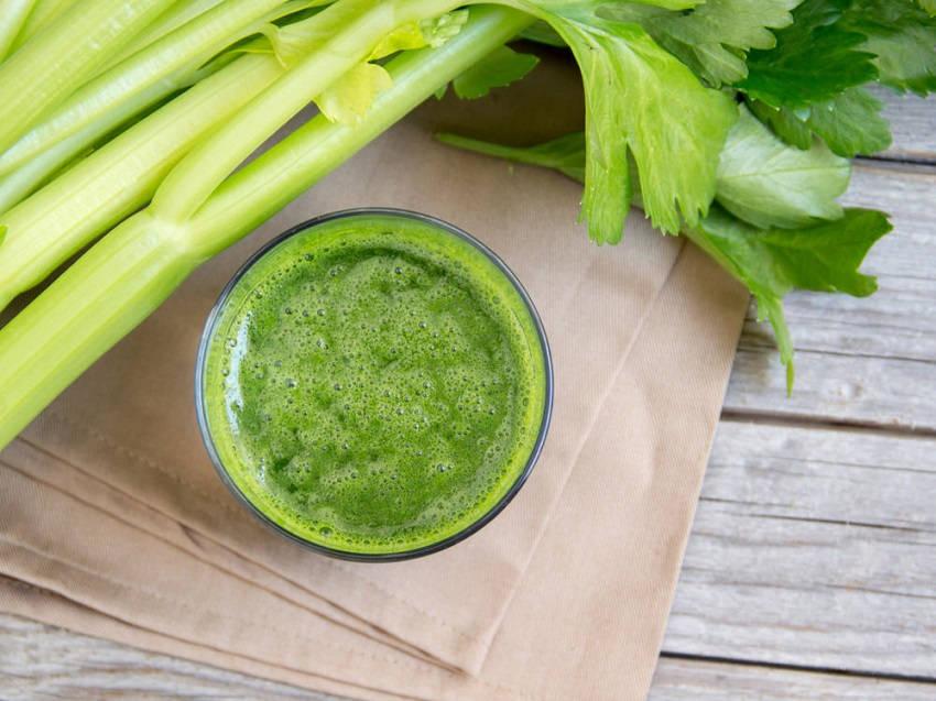 Celery Juice Recipe to Detox