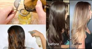 Lighten Your Hair Color