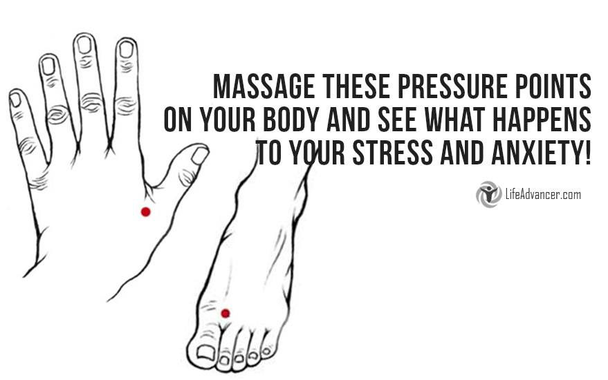 How to relieve stress through massage