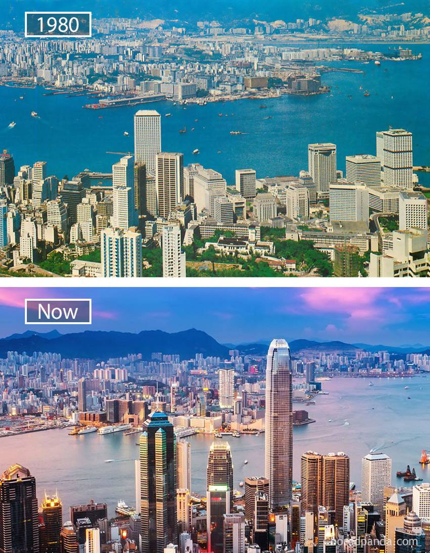 World's largest cities - Hong Kong