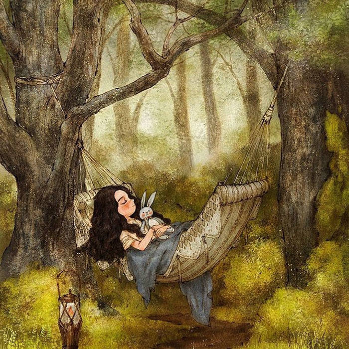 Enjoying Forest