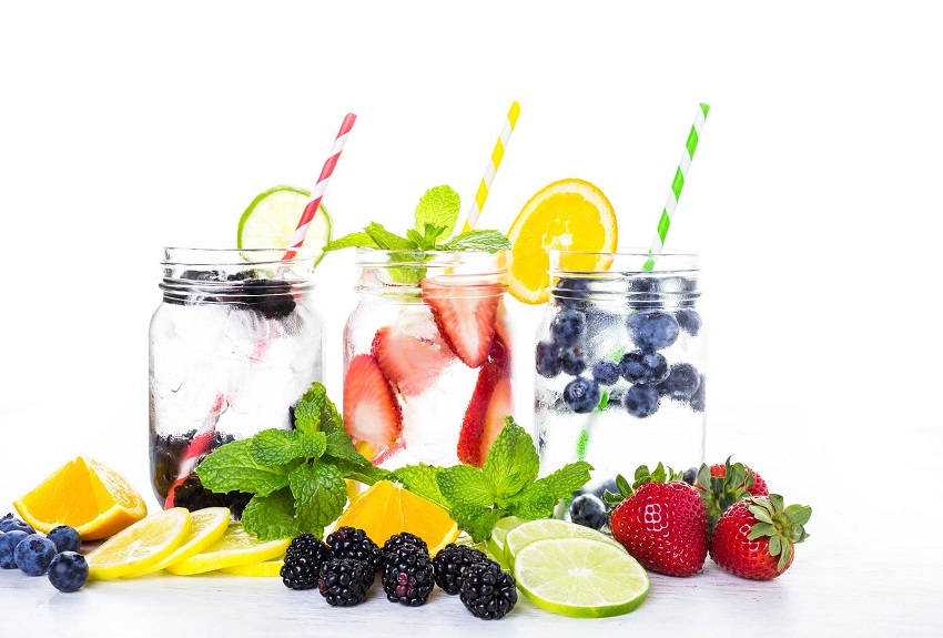 Health Boosting Homemade Flavored Water