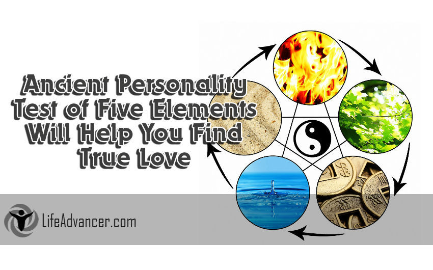 Finding True Love Ancient Personality Test Five Elements
