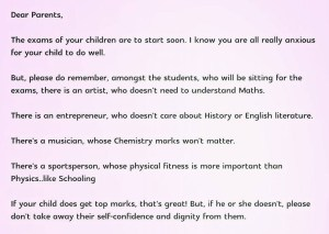 School principal in Singapore powerful message