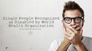 Single People Recognized Disabled