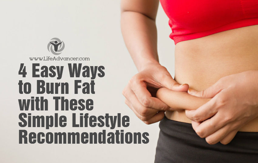 Ways Burn Fat Lifestyle Recommendations