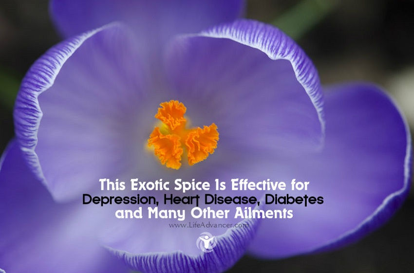 Health Benefits of Saffron