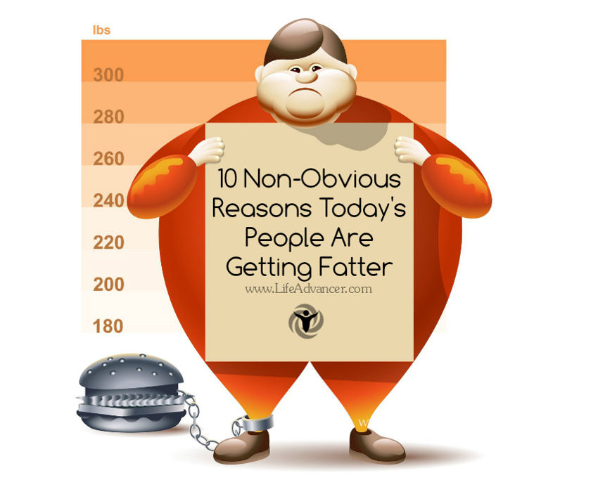 Many Obese People Today