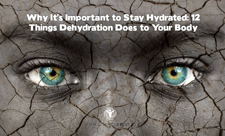 12 Reasons to Stay Hydrated: What Dehydration Does to Your Body