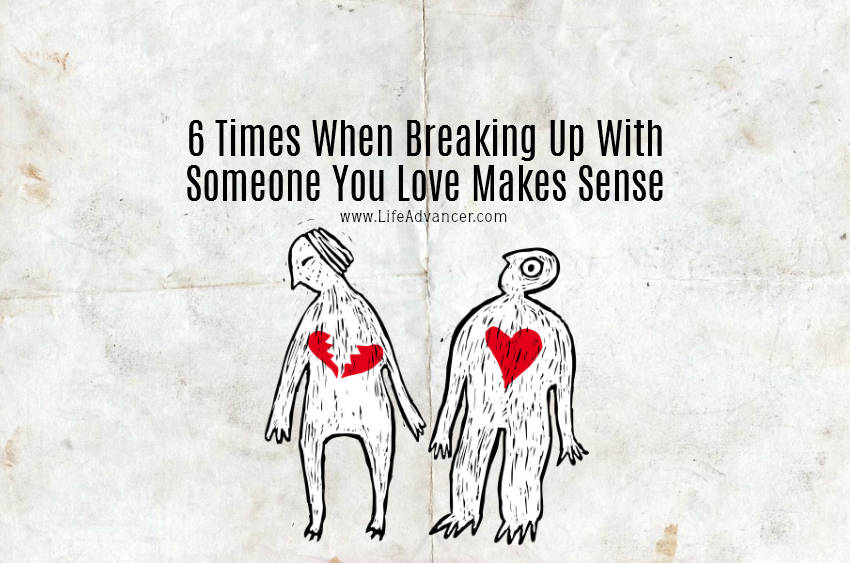 Breaking up with someone you live with