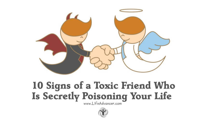 how to know if you are a toxic friend